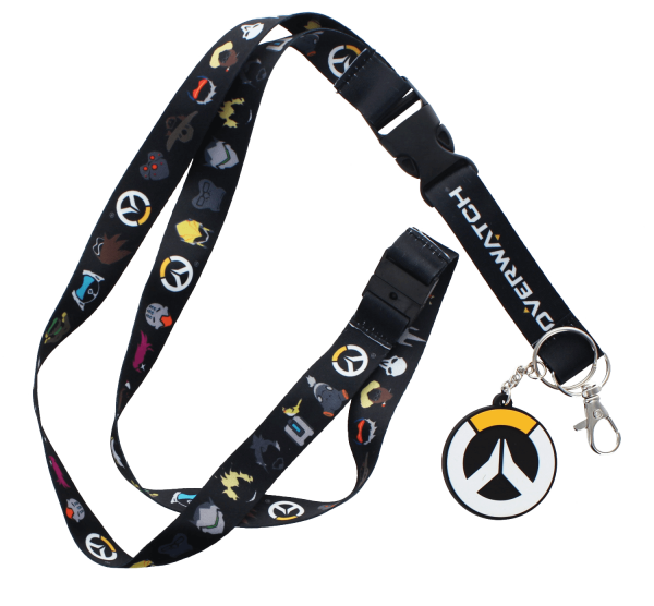 OVERWATCH LANYARD LOGO W LIGHT-UP FEATURE
