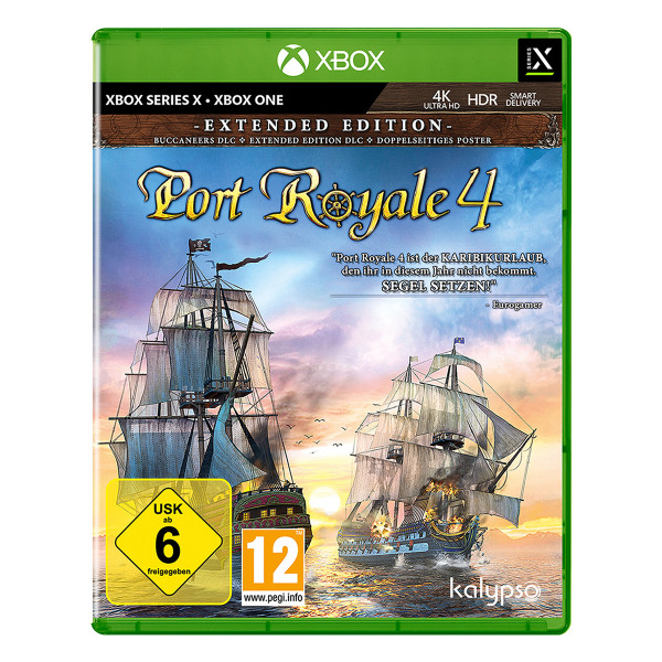 Port Royale 4 - Extended Edition - XSRX