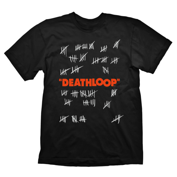 """Deathloop T-Shirt """"Counting the Days"""" Black"""